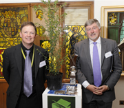 Prof Keith Waldron, and Prof David Boxer, Director of the Institute of Food Research