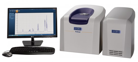 Pulsar benchtop NMR machine