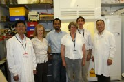 Scientists from China visiting the IFR in 2009