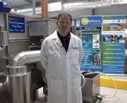 Professor Keith Waldron in the Biorefinery at IFR
