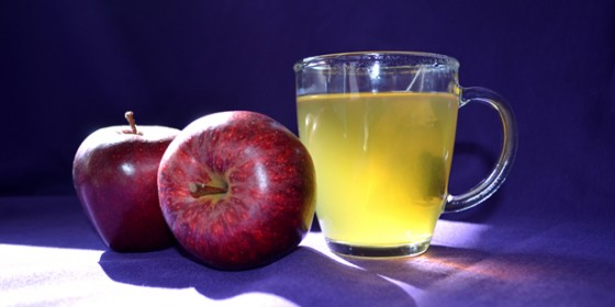 Apples and Green Tea