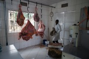 Meat supply chain in Arusha (Image courtesy of Jo Sharp - Livestock, Livelihoods and Health)