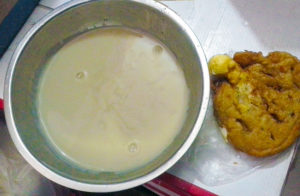 Koko millet porridge